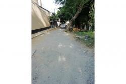 Esta es la carrera 8 entre calles 32 y 34 que se habilitó como vía alterna, una vez inciaron las obras de prolongación de la pararela oriental. Hoy en día es un paso obligado para los residentes de Cañaveral Oriental.