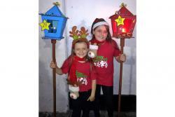 Las hermanas María Juliana Serrano Gómez y Ana María Serrano Gómez esperan lograr una destacada participación como el año pasado.