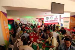 Ayer se llevó a cabo el lanzamiento oficial del tradicional Torneo de la Cancha Marte, que todos los años reúne a lo mejor del balompié aficionado de Santander.