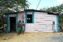 En el barrio Brisas del Río hay 30 casas que están en mayor riesgo, debido a su cercanía con el río de Oro.