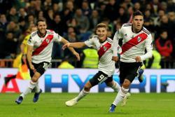 El mediocampista colombiano Juan Quintero es uno de los hombres claves de River Plate. El cuadro 'Millonario' también cuenta en sus filas con el 'cafetero' Rafael Santos Borré.
