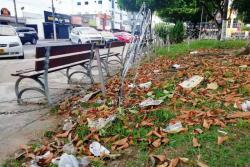 """Para el secretario de Infraestructura del municipio, Gerson González, la recolección de basuras le corresponde a la empresa de aseo. """"Nosotros lo que hacemos es poda, rocería y atención de puntos críticos. Este año hemos atendido a nueve parques con los trabajadores y el equipo del Plan Empleo Social (PES)"""", aseguró el funcionario."""