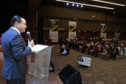 El gobernador de Santander, Didier Tavera Amado, realizó la rendición de cuentas de su gestión durante el 2018.