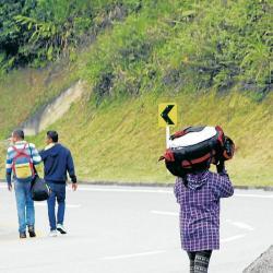 Santander ocupa actualmente el puesto 10 entre los departamentos con mayor número de residentes venezolanos. Más de 30 mil de ellos viven hoy en Bucaramanga. La mayoría lo hacen en condiciones precarias.