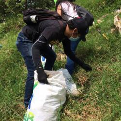35 toneladas de residuos sólidos fueron recogidos en los diversos puntos de Bucaramanga y el área metropolitana.