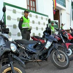 Ayer, las motos hurtadas fueron entregadas a sus propietarios.