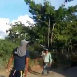 Según se conoció, el hecho ocurrió en medio de un operativo del Ejército contra transportadores informales de combustible.