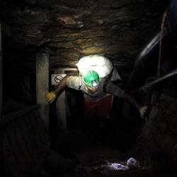 La mina en donde ocurrió la emergencia está ubicada a 40 minutos del casco urbano de Enciso.