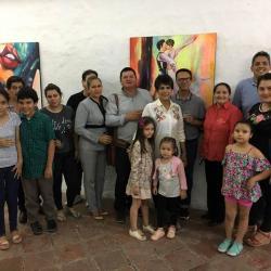 """""""Mujer"""" es el nombre de la exposición que se desarrolla en la Casa de la Cultura 'Horacio Rodríguez Plata' a cargo de la artista Adriana García."""