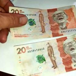 No se deje estafar, aprenda a diferenciar los billetes falsos de $20.000