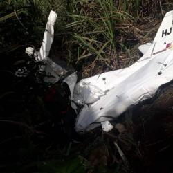 Accidente aéreo en Antioquia deja dos muertos