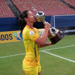 Yoreli Rincón denuncia que no les darán los premios ganados en la Libertadores