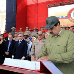 Maduro acusó a Iván Duque de preparar planes militares contra Venezuela