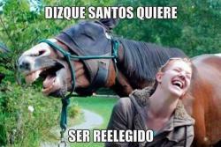 Redes sociales no perdonaron anuncio de reelección de Santos