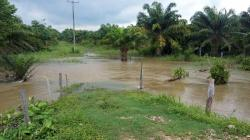 Imágenes del desbordamiento del río Magdalena en Barrancabemeja