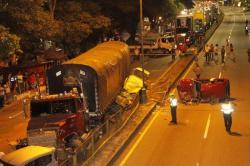 Impactantes imágenes del accidente en Piedecuesta de este jueves