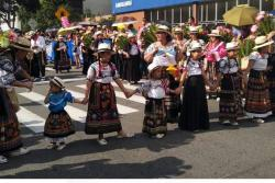 Así transcurrió el desfile de carrozas de la Feria de Bucaramanga