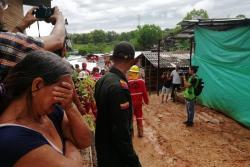 Las imágenes de la tragedia tras deslizamiento en Barrancabermeja