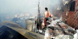 Galeria: Las duras imágenes del voraz incendio en el Norte
