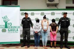 Así actuaba banda de mujeres que habría hecho extorsiones por más de $2 mil millones en Bucaramanga