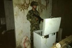 Así es el búnker bajo tierra en el que el Eln escondía a sus cabecillas en Antioquia