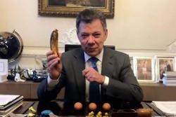 El presidente Santos y su debut como youtuber, vea el curioso video