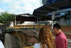 Colapso de estructura del muelle de Barrancabermeja afecta a 300 pasajeros al día