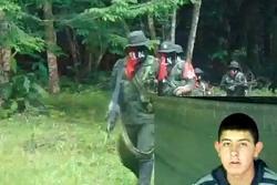 Esta es la prueba de supervivencia de tres militares colombianos secuestrados en Arauca
