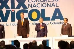 Presidente Iván Duque instaló Congreso de Fenavi en Bucaramanga