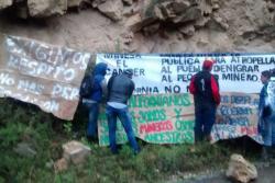 Protestan contra la minería a gran escala en el páramo de Santurbán