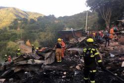Grave incendio consumió varias casas en el Norte de Bucaramanga