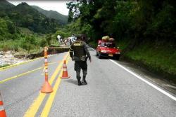 Paso restringido solo para vehículos livianos en la vía entre Bucaramanga y Cúcuta