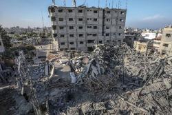 Seis muertos en Gaza y uno en Israel tras 24 horas de bombardeos y cohetes