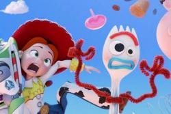 """""""Toy Story 4"""" revela sus primeras imágenes y su nuevo personaje Forky"""
