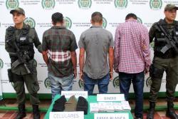 Video: A la cárcel tres presuntos extorisonistas en Floridablanca