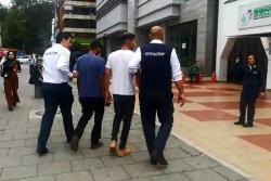 Expulsarán de Colombia a tres venezolanos que robaron un camioneta en Bogotá