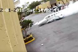 Video registró momento en que avioneta se estrelló contra centro para niños autistas