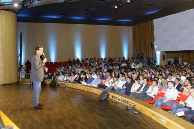 Ricardo Leyva, gurú del marketing experiencial, fue uno de los inversionistas participantes en Apalanca Fest.