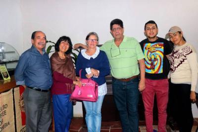 Wilson Barrios, Olga Sofía Hernández, Aura Raquel Moreno, Jorge Ortiz, Ferney Sierra y Milena Mantilla.