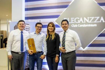 Carlos Fernando Rueda, Néstor Mejía Duarte, Adriana Herrera Rodríguez y Robinson Sánchez.