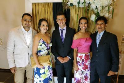Carlos Chaux Miranda, Maria Fernanda Romero, Christian González Maldonado, Leidy Esther Yepes y Jorge Alberto García.