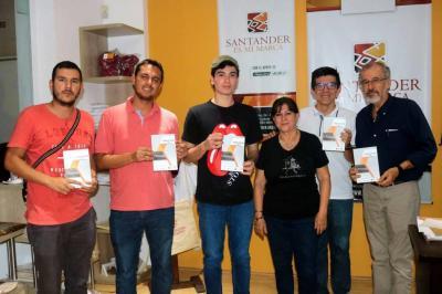 Ronald Salazar, Hugo Armando Arciniegas, Sebastián Bayona, Clara Hernández, Miguel Cuadros y Luis Álvaro Mejía.