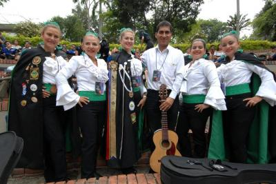 Judy Guerrero, Luz Helena Ramírez, Sandra Bustos, Jorge Iván Osorio, Jenny Paola Tovar y Carolina Linares.