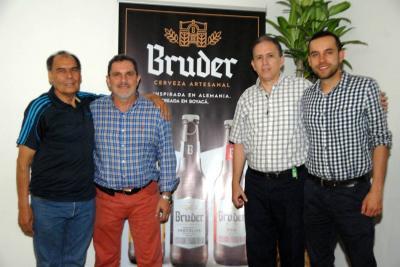 Rafael Páez, Raúl DiMarco, Jorge Rodríguez y Héctor Martínez.