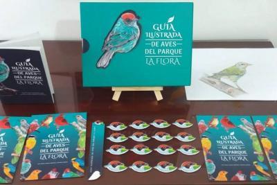 'Guía ilustrada de aves del Parque La Flora', el proyecto de grado de tres estudiantes de  Bucaramanga