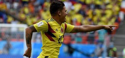 Vote por el gol de Quintero, entre los mejores del Mundial