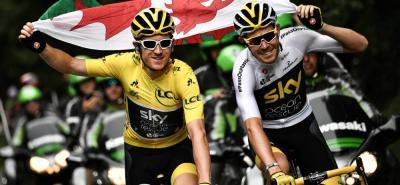 Geraint Thomas se proclamó como 'rey' del Tour de francia
