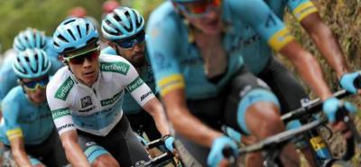 'Súperman' López atacó y es tercero en la Vuelta a España