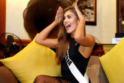"""""""No dejaré de luchar hasta lograr la corona"""":  Señorita Colombia"""