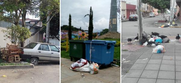 El cambio de horario para la recolección de basura ha generado constantes denuncias.